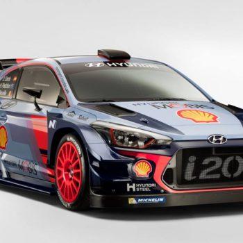 Hyundai svela la i20 Plus: ecco l'arma con cui Paddon, Neuville e Sordo lotteranno per il WRC