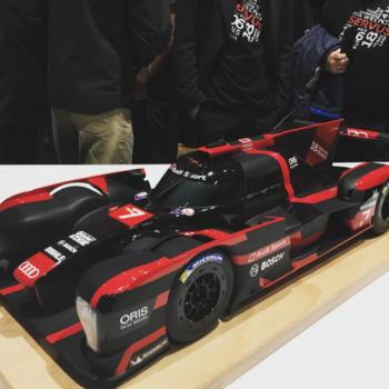 La R18 del 2017 sarebbe stata così: un modellino svela le novità della LMP1 di Audi