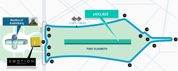 Il layout del Brussels ePrix