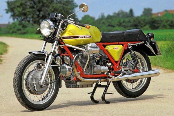Moto Guzzi V7 Sport 'Telaio Rosso', 1971
