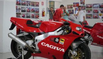 Cagiva Ferrari F4: concepita e mai nata