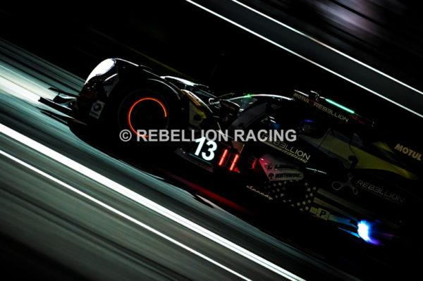 Una delle Rebellion Racing alla 24h di Daytona
