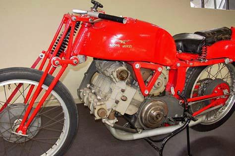 Moto Guzzi 3 Cilindri Sovralimentata, 1940