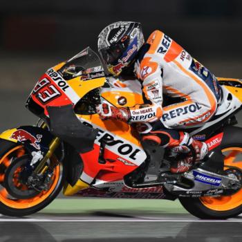 Motogp Test Qatar, Day&Night 1: DesmoDovi vola senza le ali, Honda finalmente le mostra