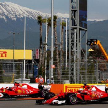 E' tutta Ferrari la prima fila del GP di Russia! Inseguono le Mercedes, poi il vuoto