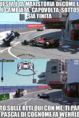 Pagelle Rimappate GP Monaco + Intrusi