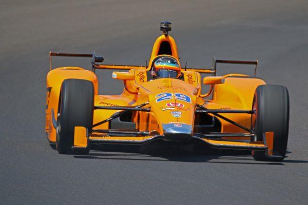 Alonso a Indianapolis con la sua #29