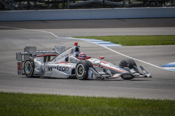 Power sulla pista stradale di Indianapolis