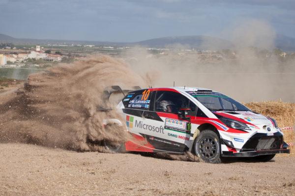 Jari Matti Latvala, Mikka Anttila (Toyota Yaris WRC #10)