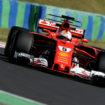 Vettel domina le FP3 ungheresi davanti a Raikkonen, solo 5° Hamilton