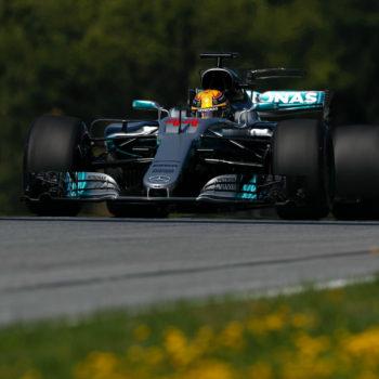 Le FP1 del GP d'Austria vanno ad Hamilton. 2° Verstappen, 4° Vettel