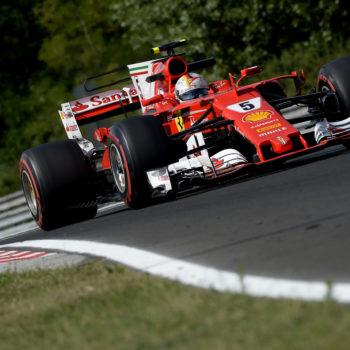 In Ungheria Vettel e la SF70-H si prendono la vetta del Day 2: stupiscono Norris e Kubica, Ghiotto stakanovista