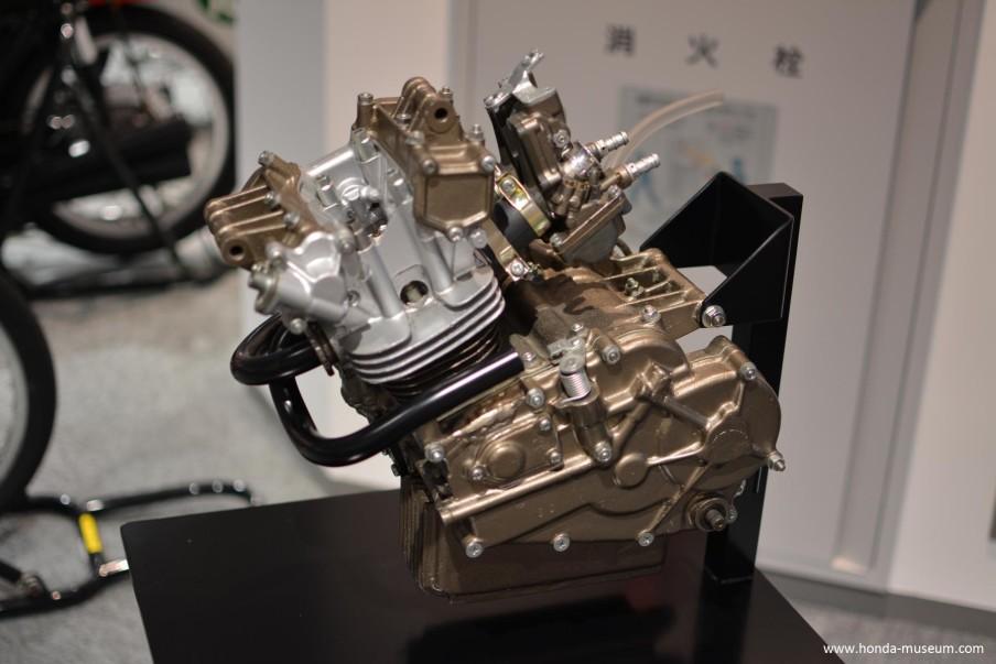 Motore completo della Honda RC116