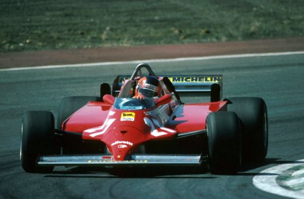 Winner Gilles Villeneuve(CDN) Ferrari 126CK Spanish GP, Jarama, 21 June 1981