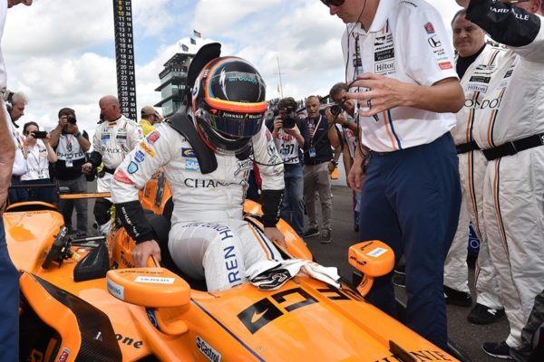 Alonso a Indianapolis
