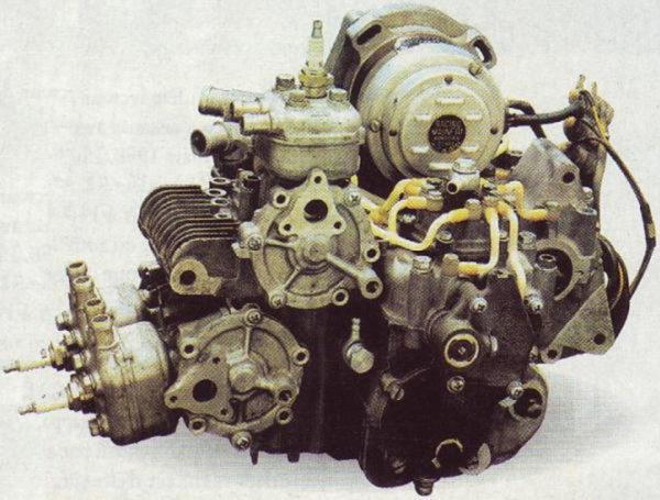 Motore senza carburatori della RP68