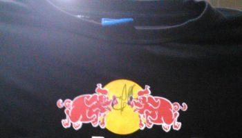 GP di Monza, settembre 2013: quando Chris Horner autografò la maglietta Red Pork