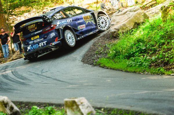 Rally di Germania, Tanak vince davanti a Mikkelsen: Ogier è di nuovo primo con 17 punti di vantaggio