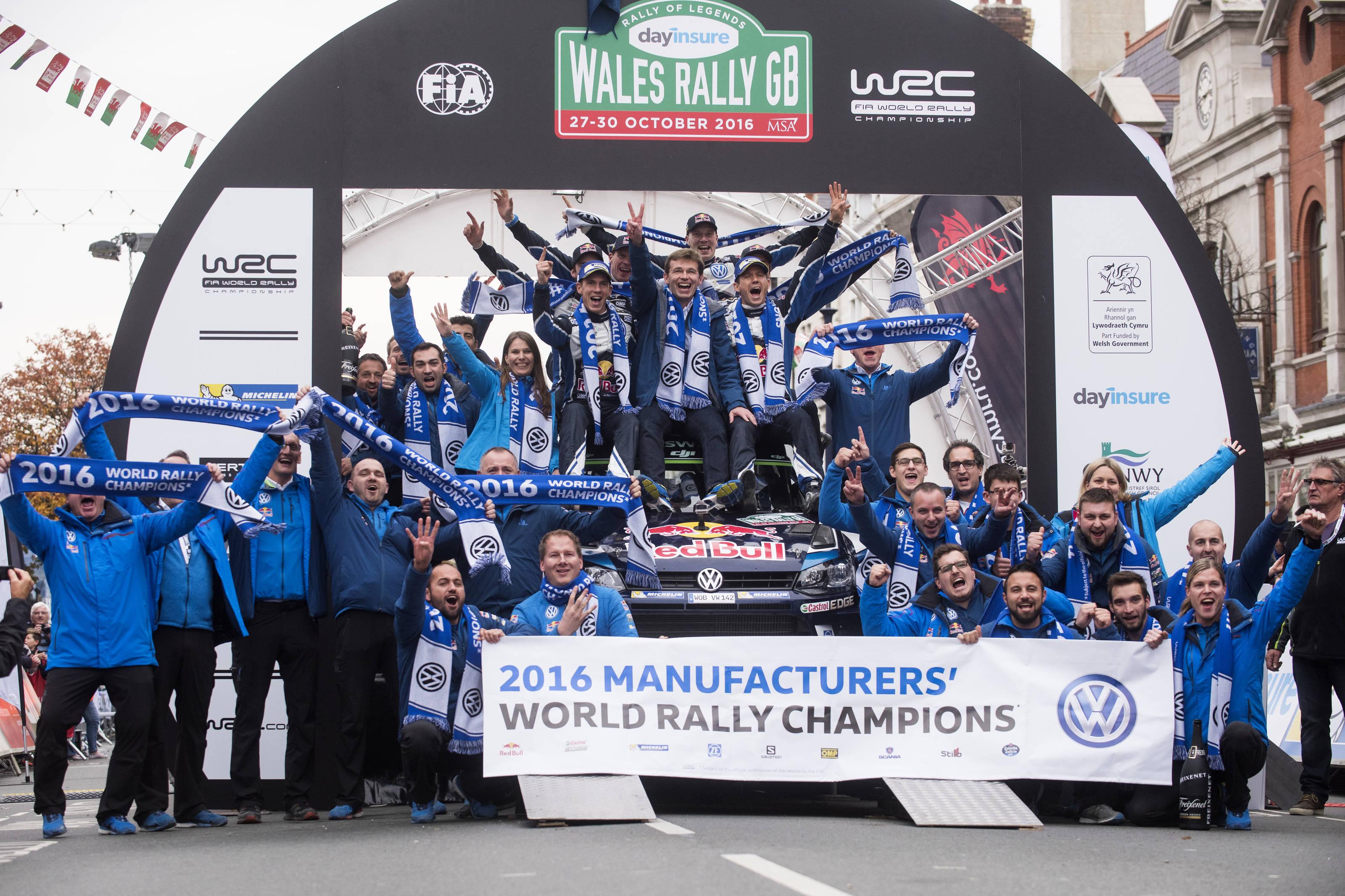 WRC-Maths: Ogier e M-Sport campioni in Galles se...