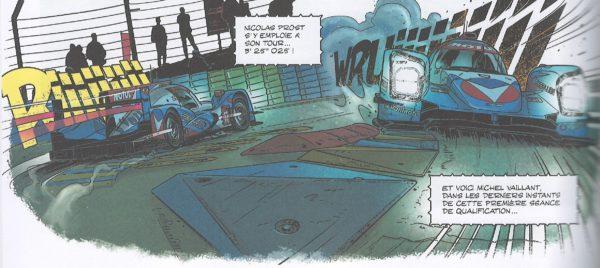 La Vaillante a Le Mans, nelle prove in notturna