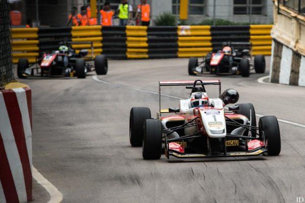 Una scena del GP Macao 2016