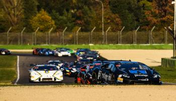 Le Lamborghini World Final entrano nel vivo: Gara 1 va ad Agostini-Hindman