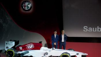 L'Alfa Romeo Sauber svela concept della livrea e line up: Leclerc ed Ericsson i titolari, Giovinazzi 3° pilota