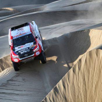 Dal Day 11 della Dakar spunta Ten Brinke, Price e Benavides iniziano la rimonta. Ritirato Barreda!