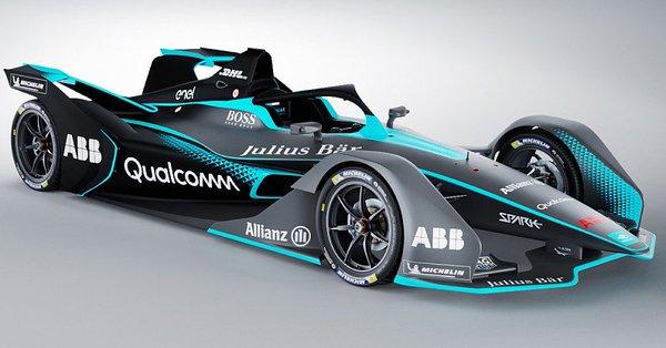 L'auto dalle forme assurde: ecco la nuova Spark Formula E, ha l'Halo e le ruote coperte