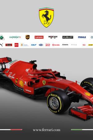 Passo più lungo e retrotreno più stretto: ecco la Ferrari SF71-H, l'arma di Vettel e Raikkonen per il 2018