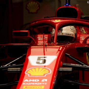 Bisogna sfruttare le ore più calde: al Montmelò salta la pausa pranzo. Vettel davanti a metà giornata