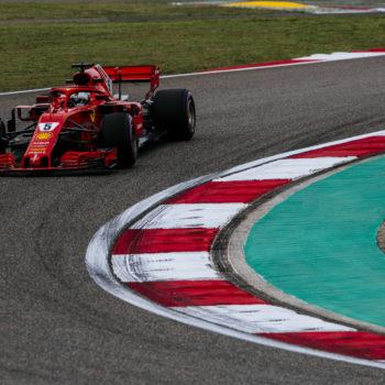 E' 1-2 Ferrari nelle FP3 della Cina, con Vettel che fa il vuoto. Si gira Hamilton, si pianta Ricciardo