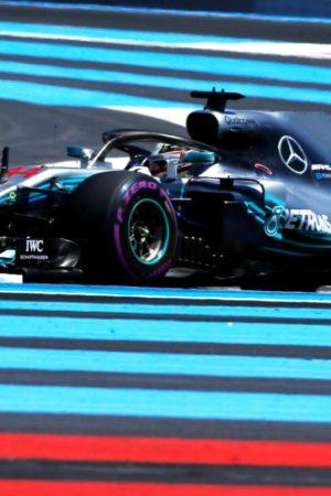 Le FP1 del GP di Francia se le prende Hamilton. Ferrari dietro a Ricciardo, a fuoco Ericsson