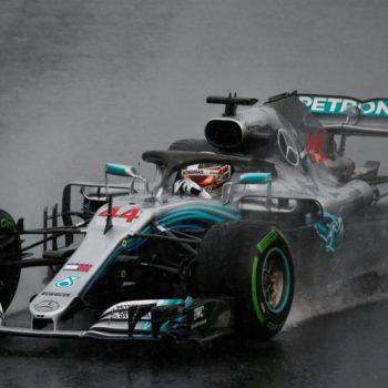 La pioggia scombina le carte in Ungheria: Hamilton è in Pole! Raikkonen davanti a Vettel