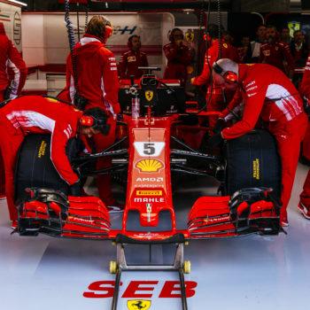 """""""Stai raschiando il fondo della macchina! Che ca**o fai!"""": il concitato Team Radio di Vettel nel Q3 di SPA"""