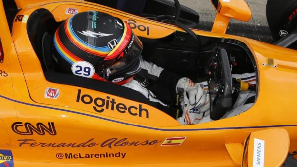 Fernando Alonso alla Indy 500 2016