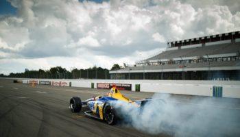 Indy Pocono: Rossi domina, vince e accorcia. Terrore per Wickens
