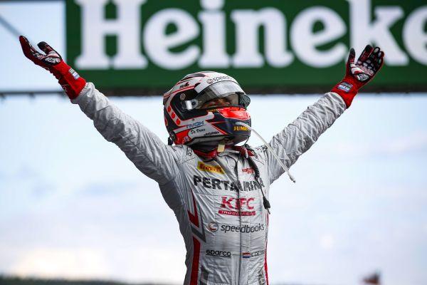 FIA Formula 2 Series - Round 9. Spa-Francorchamps, Spa, Belgium. Saturday 25 August 2018. Nyck De Vries (NLD, PERTAMINA PREMA Theodore Racing) Photo: Zak Mauger / FIA Formula 2. ref: Digital Image