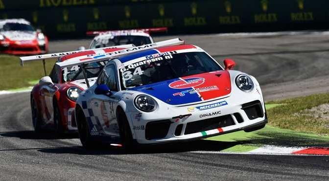 Porsche Mobil 1 Supercup Monza 2017 #34 Gianmarco Quaresmini (ITA, Dinamic Motorsport)