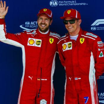 """Vettel sbotta: """"Ormai combatto contro tre auto, e una è quella di Raikkonen"""""""