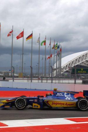 Gp2 series Sochi, Russia 09 – 11 October 2015