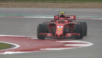 FP1 bagnate in quel di Austin: Hamilton vola, Ferrari dietro le Red Bull
