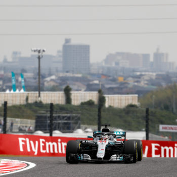 Hamilton si prende anche le FP2 del Giappone. A 8 decimi Vettel, che spera nel passo gara