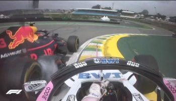 Verstappen furioso: cerca e spintona Ocon nel dopo gara del Brasile!