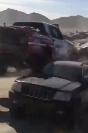 Tragedia sfiorata al Baja 1000: Alexander Rossi rischia il frontale con la Jeep di uno spettatore