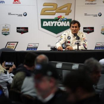 """Il volante tradisce Zanardi a Daytona: """"Sembrava non fosse collegato, è la prima volta che succede"""""""
