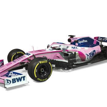 Racing Point svela solo livrea e sponsor: ecco con che colori correranno Perez e Stroll