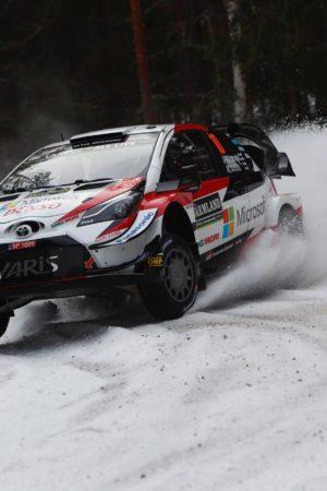 Tra alte temperature, neve che si scioglie, è giunto il weekend del Rally di Svezia