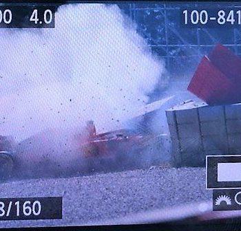 Vettel a muro a Barcellona: la SF90 ha avuto un cedimento meccanico