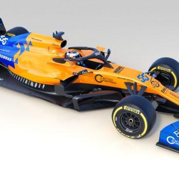 Arancione, blu e con un muso simile all'Alfa Romeo: ecco la McLaren MCL34